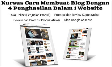 tutorial membuat blog jadi toko online cara membuat blog toko online iklan google promosi