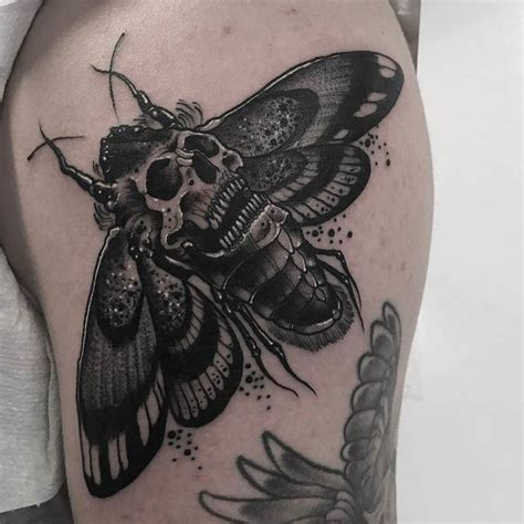 death moth tattoo 17 best ideas about moth on floral arm