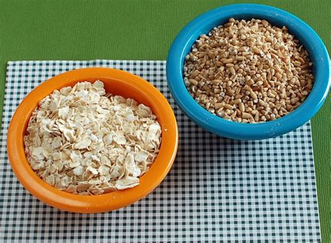 Shelf Of Rolled Oats by Berry Coconut Steel Cut Oats Healthy Ideas For