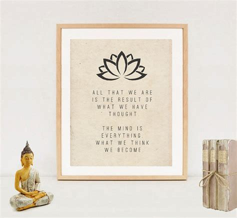 printable buddha quotes spiritual typography wall art print buddha quotes digital
