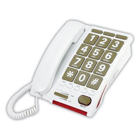 phones for hearing impaired maxiaids serene jumbo key 55db lified phone for the hearing impaired