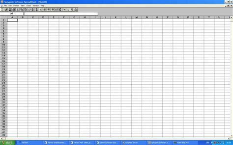 Spreadsheet Applications by Spreadsheet Software Programs1 Spreadsheet Software