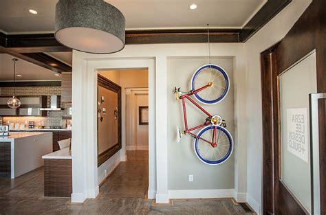 creative bike storage display ideas  small spaces