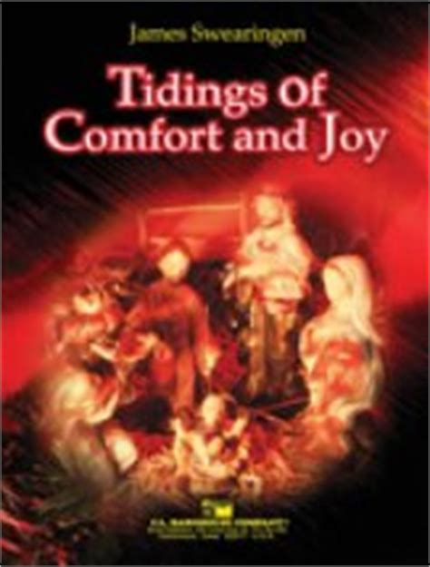 Tidings Of Comfort And Song by Tidings Of Comfort And Sheet By Swearingen