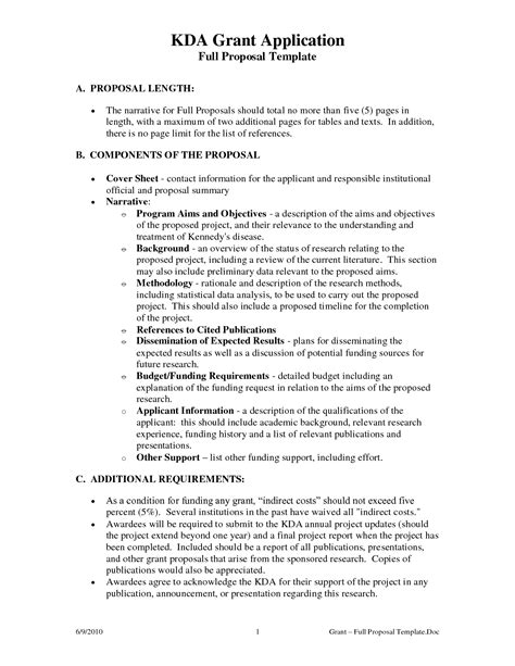 Grant Template For Non Profit Non Profit Grant Template It Resume Cover