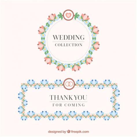cornici floreali gratis cornici floreali di nozze scaricare vettori gratis