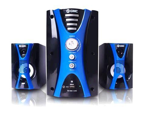 Speaker Multimedia Gmc 887d harga speaker aktif gmc 888h terbaru