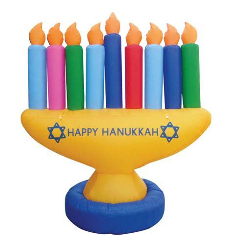 inflatable hanukkah decorations menorah indoor outdoor decoration 7