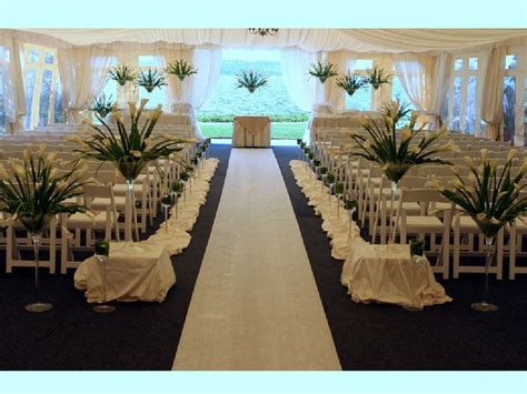 church wedding aisle decoration ideas decoration