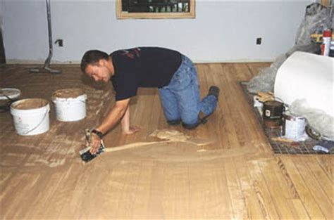 Finishing Moves Repairing Hardwood Floors Extreme