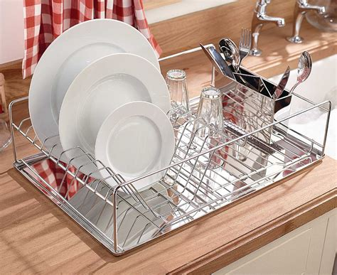 Stainless Steel Dish Rack Large by Stainless Steel Drainer Large Stainless Steel Plate Dish