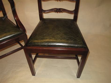Antique Mahogany Dining Chairs Set 10 Mahogany Dining Chairs Antiques Atlas