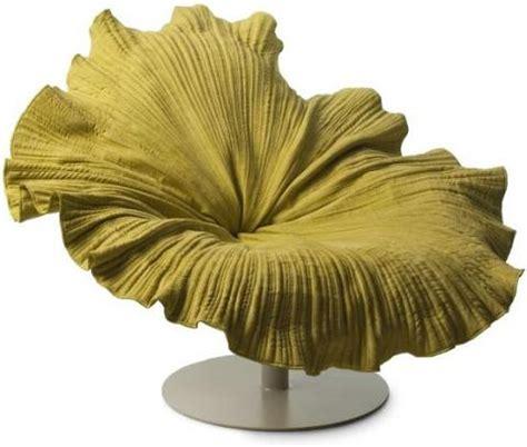 sillones con formas sill 243 n en forma de flor