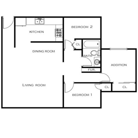 2 bedroom addition plans floor plans holiday manor apartments in oxnard ca