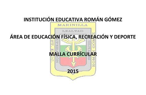malla curricular educacion artistica y cultura calameocom calam 233 o malla curricular preescolar primaria b 225 sica