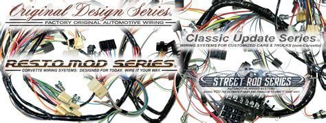 exact oem reproduction wiring harnesses  restomod