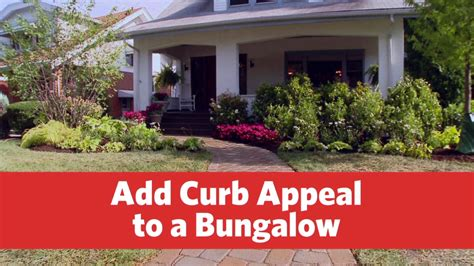 how to curb appeal how to add curb appeal to a bungalow fresh gardening ideas