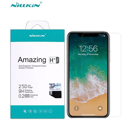 for apple iphone xr glass tempered iphone xr screen protector nillkin amazing h pro anti