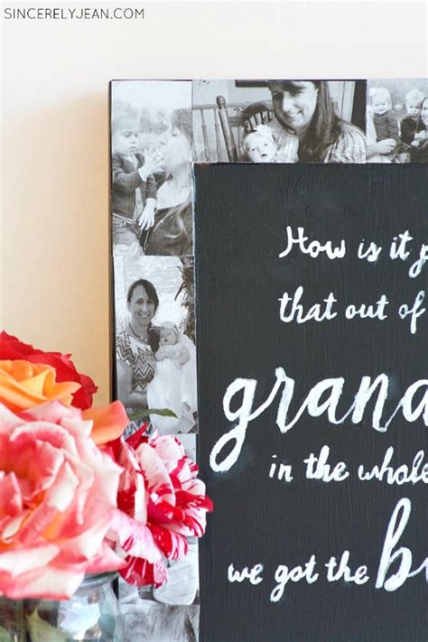 how to make a picture frame collage on wall diy picture frame collage chalkboard
