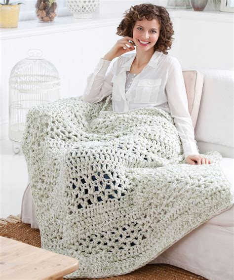 pattern crochet throw super quick throw crochet pattern red heart