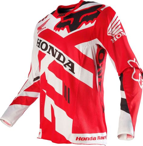 fox motocross jersey fox racing 360 honda mens road dirt bike motocross