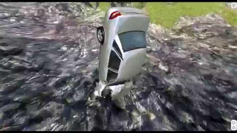 beamng drive alpha crash testing and new pit of 2 beamng drive mod leap of crash test