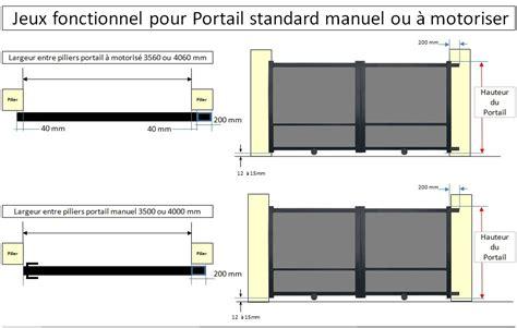Portail Garage Standard by Dimension Standard Portail Best Porte De Garage Standard