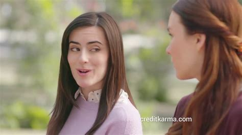 credit karma commercial actress talking to websites julia gallagher credit karma youtube