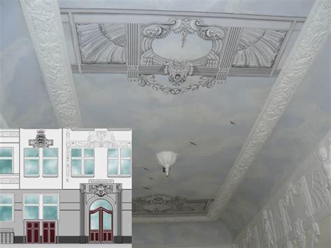 stuck jugendstil jugendstil treppenhaus fassade und entree restaurierung