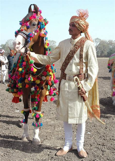 Wedding Attire For Horses by Another Indian Wedding Costume On A Marwari And