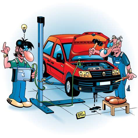 Auto In Werkstatt by Arbeitsfeld Fahrzeugaufbereitung
