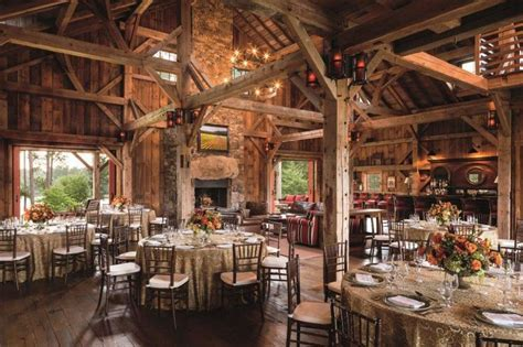 The Sandy Creek Barn at The Ritz Carlton Lodge in