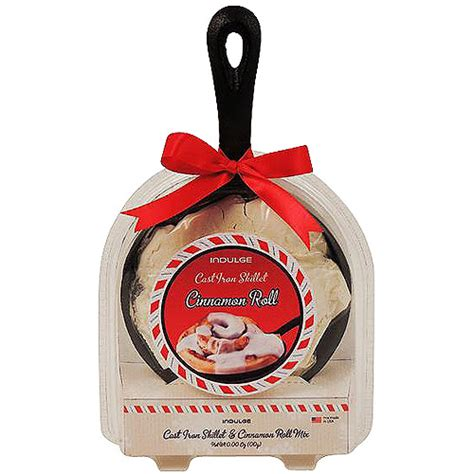 indulge cinnamon roll baking skillet holiday gift set 2