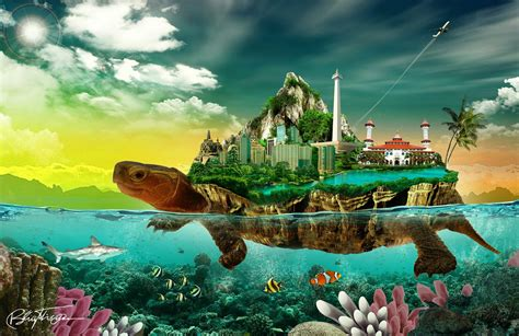 membuat cerita fantasi sendiri g tutorial photoshop bahasa indonesia