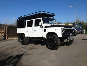 land rover defender 110 cab bespoke on galv chassis