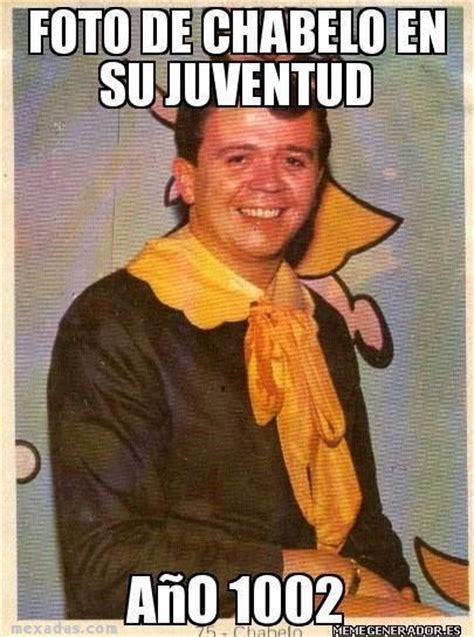 Chabelo Memes - young chabelo chabelo know your meme