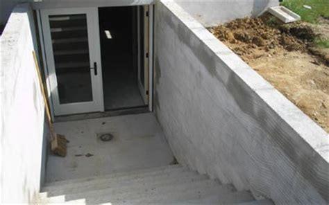 basement walkout converting an englsh basement to a walkout
