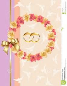 Wedding Invitation E Card Wedding Invitation Greeting Card Royalty Free Stock Photos Image 13981208