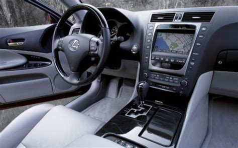 old car manuals online 2006 lexus gs navigation system 2006 lexus gs 300 road test first test motor trend