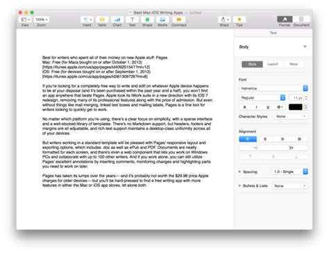 manuscript template for apple pages the best cross platform writing apps for mac and ios