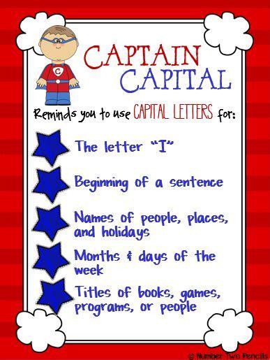 captain capital teaches capitalization anchor charts a
