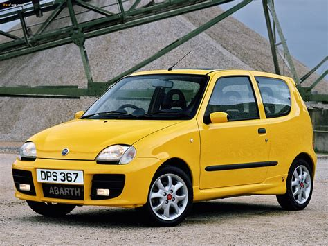 fiat seicento sporting abarth pictures of fiat seicento sporting abarth uk spec 2001