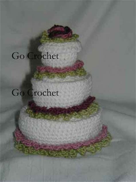 Wedding Cake Patterns by Gocrochet Wedding Cake Safe Pattern