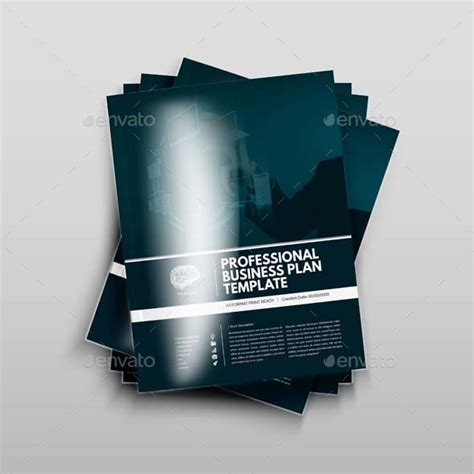 professional business plan template by keboto graphicriver