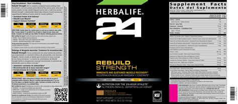what are the ingredientsin plantabbs prolong the herbalife24 family herbalife24