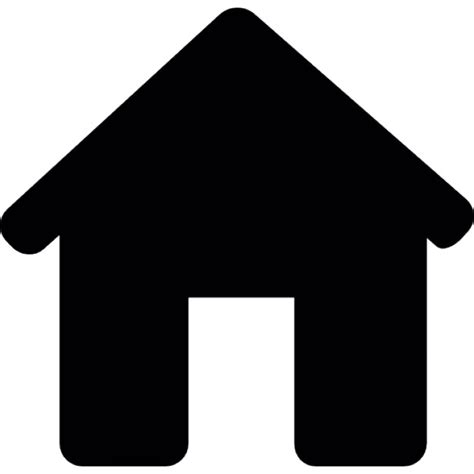 house silhouette house black silhouette without door icons free download
