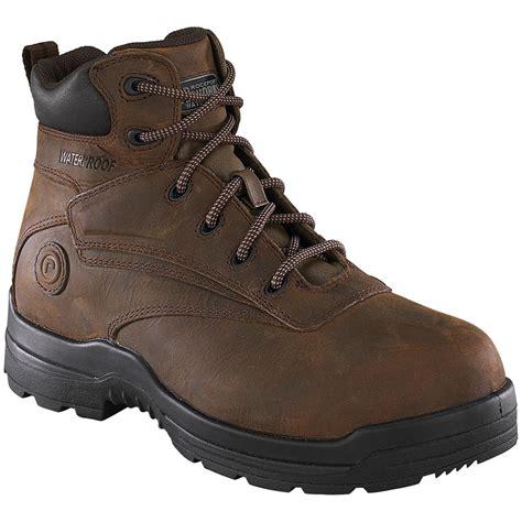 s rockport works rk6630 work boots brown 216007