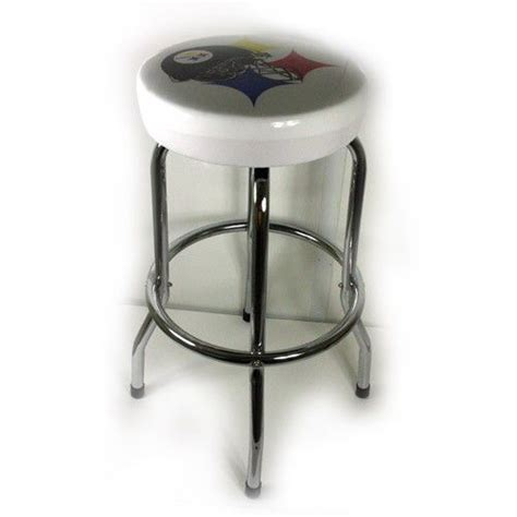 Steelers Bar Stools With Backs by Pittsburgh Steelers Football Nfl White Bar Stool