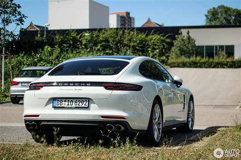 porsche panamera 2016 white porsche panamera turbo 2017 10 july 2016 autogespot