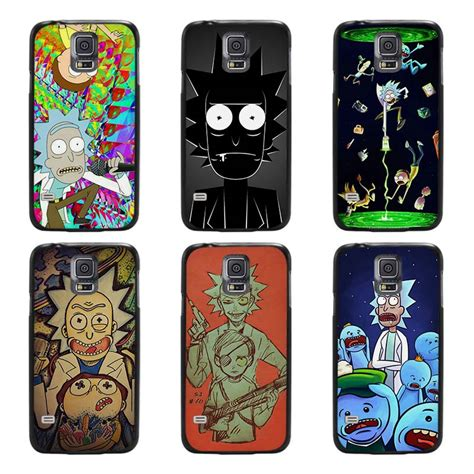 Casing Samsung S7 Rick And Morty Custom rick and morty season black cover scrub shell coque for samsung galaxy s3 s4 s5 mini s6 s7